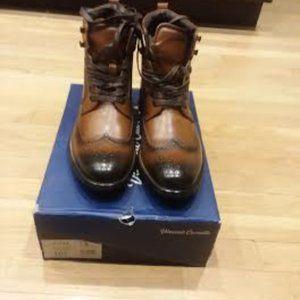 Men's Vince Camuto Wingtip Boots 10.5